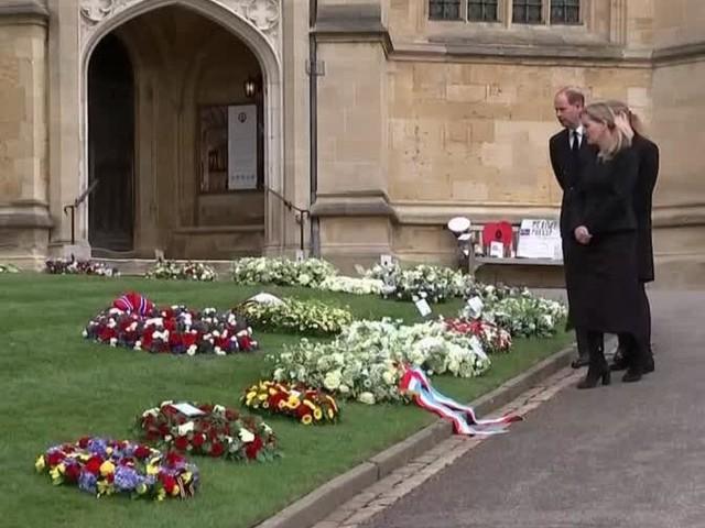Nur 30 Gäste der Trauerfeier von Prinz Philip