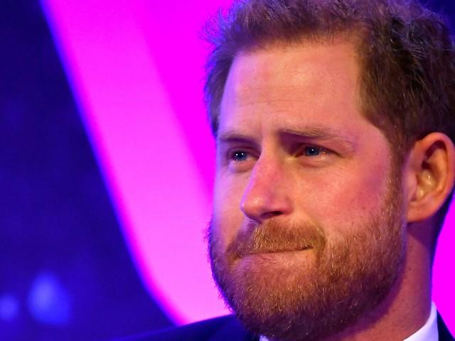 Nah am Wasser: Prinz Harry kämpft mit den Tränen