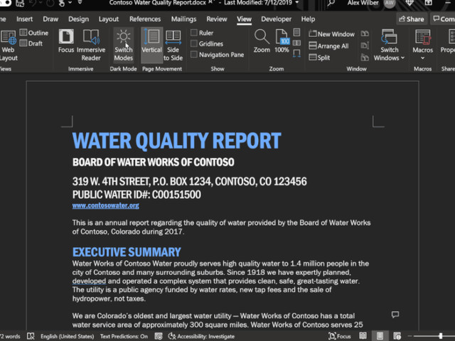 Microsofts Office 2021 bekommt einen Dark Mode und erscheint Anfang Oktober