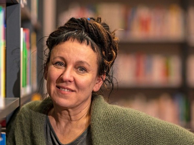 "Nobelpreisträgerin Tokarczuk 2020 bei ""Literasee"" in Bad Aussee"