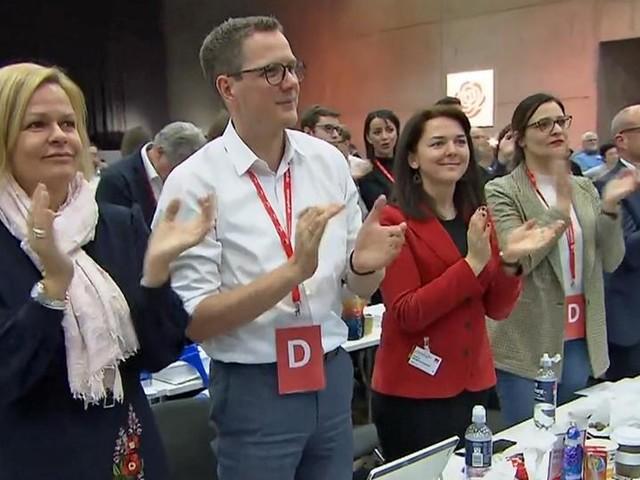 Hessen-SPD in Berlin: Auf Distanz - aber solidarisch