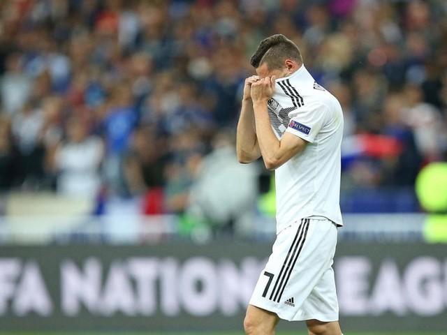 Deutschland: Ein Fußballjahr wie eine Ohrfeige