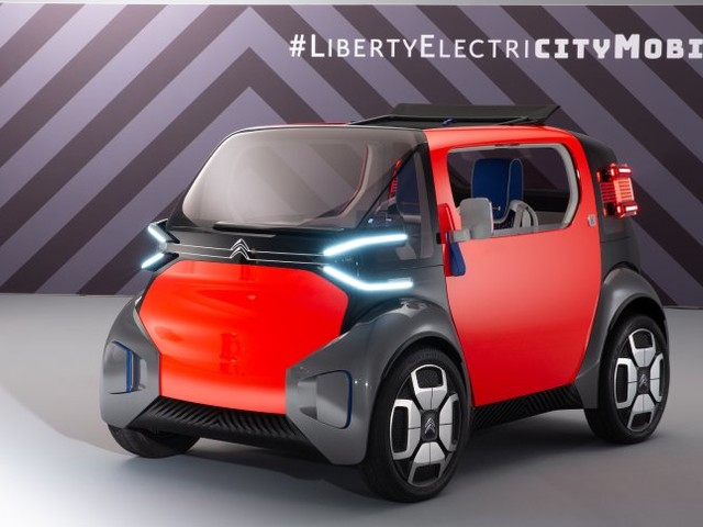 Citroën Ami One Concept: Der Zauberwürfel