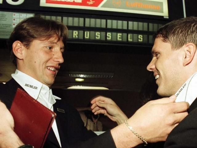 Rapids Punkterekord: Auch 1996 waren Kühbauer/Barisic am Werk