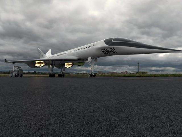 In nur drei Stunden von Paris nach New York fliegen, verspricht dieses Flugzeug
