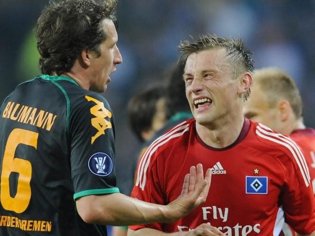 """HSV – Werder Bremen: Baumann: """"Wir hätten auch ohne die Papierkugel gewonnen"""""""