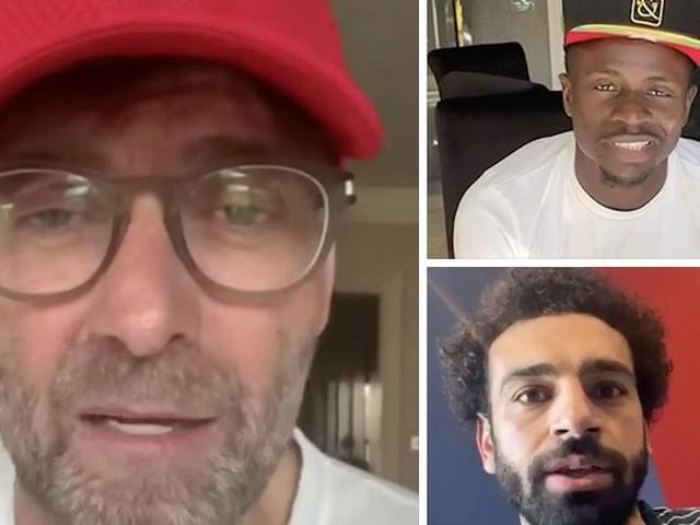 Videobotschaften: Jürgen Klopp und Liverpool-Stars danken Helfern in der Corona-Krise