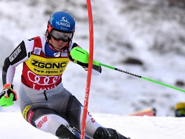 Damen-Slalom in Levi: Vlhova siegt vor Shiffrin und Liensberger