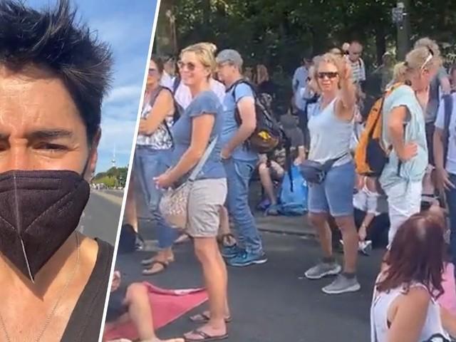 Dunja Hayali bei Corona-Demo beschimpft und bedroht