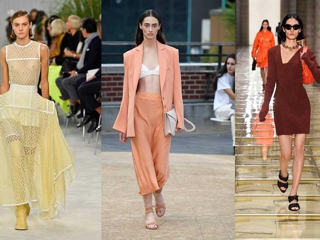 Auf den Catwalks gesichtet: Pantone-Farbtrends für S/S 20