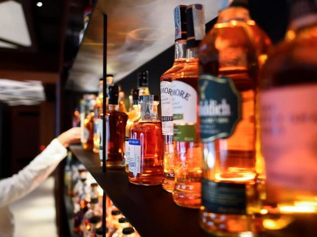 In den USA werden Whiskey, Bourbon und Champagner knapp