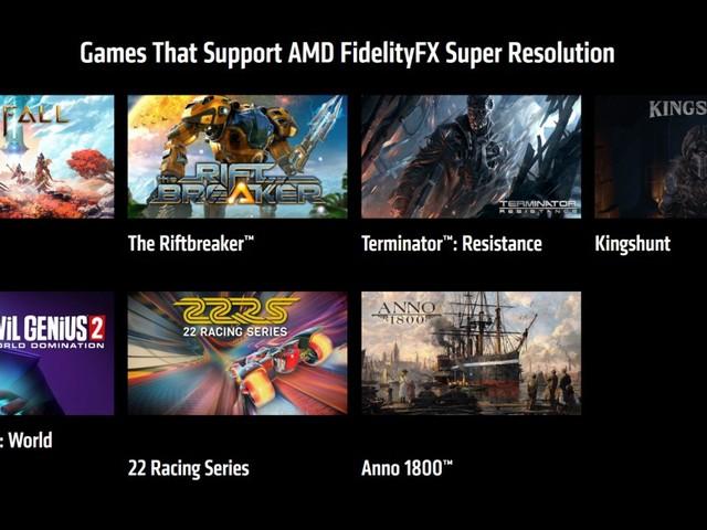 AMD FidelityFX Super Resolution (FSR): Die Upscaling-Methode ist in den ersten Spielen verfügbar
