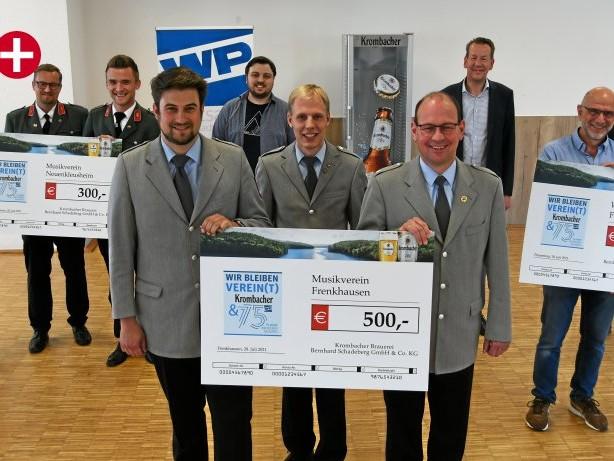 Wir bleiben Verein(t): Kreis Olpe: Siegervereine der WP-Aktion wurden ausgezeichnet