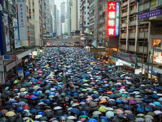 Hongkong - Auslieferungsgesetz zurückgezogen