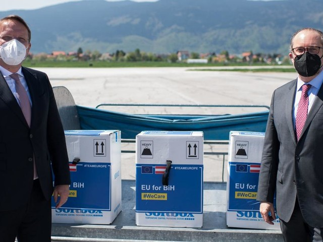 Warum Österreich Westbalkan-Staaten eine Million Impfdosen schenkt