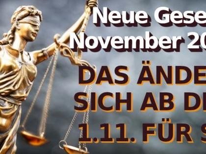 Neue Gesetze 1. November 2020: Quarantäne-Regeln, Nutri-Score und Co.: Gesetzesänderungen ab 1.11.