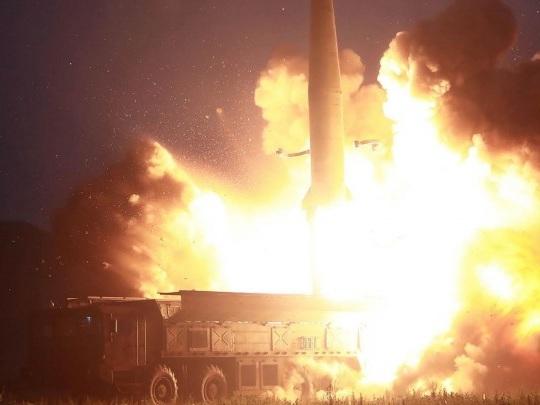 Nordkorea - Weiterer Raketentest an der Ostküste