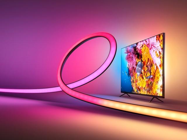 Philips Hue Gradient Lightstrip Ambiance im Herbst erwartet