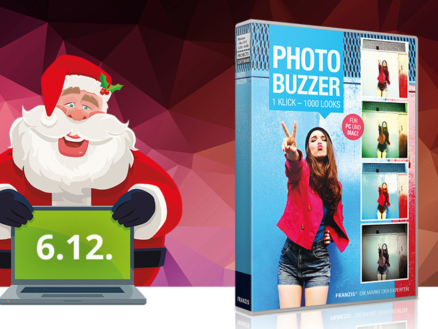 Download-Adventskalender: Photo BuZZer kostenlos