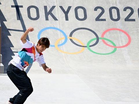 Sommerspiele in Tokio: Japaner siegt bei olympischer Skateboard-Premiere