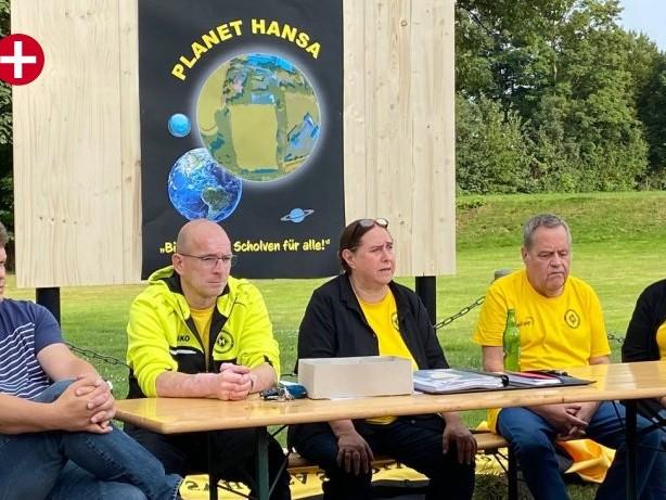 Sportpolitik: Hansa Scholven plant Planeten gegen den Zweckel-Umzug