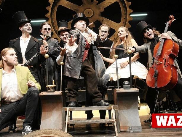 Neuerscheinungen: Musiktheater im Revier: Steampunk-Oper und Russland-Reise