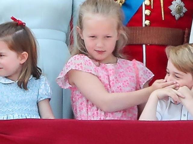 Darum darf Prinz George nicht mehr neben seiner Cousine stehen