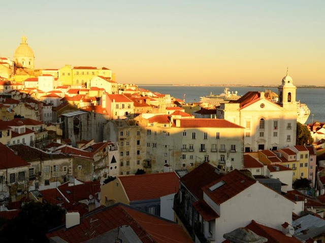 Der Winter taucht Lissabon in magisches, melancholisches Licht