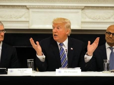 Unternehmenschefs wollen Trump nicht mehr beraten