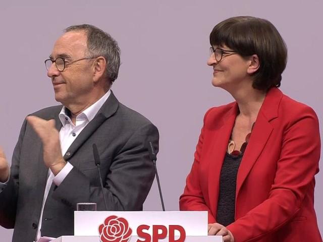 Dank von neuen SPD-Chefs für scheidendes Übergangs-Trio