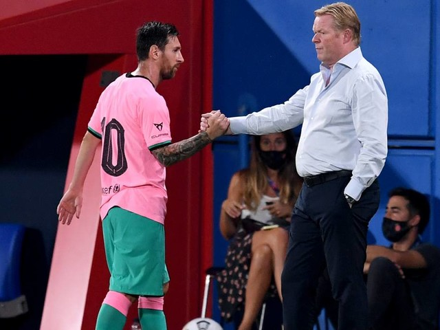 """Primera Division: Koeman: """"Messi war ein Tyrann im Training"""""""