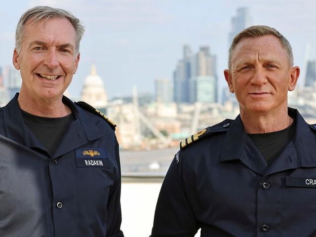 """Titel von britischer Royal Navy: """"Bond""""-Star Craig ist jetzt Ehren-Commander"""