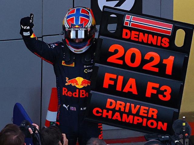 Formel 3: Norweger holt Titel in der Formel 3