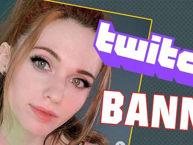 """Amouranth: Twitch-Streamerin gebannt – """"Ohren lecken"""" ab jetzt verboten?"""