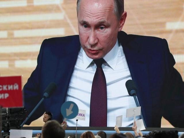 Putins Jahres-Pressekonferenz: Breitseiten vor 1.900 Journalisten
