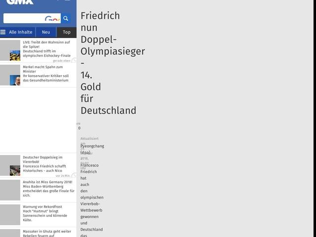 Friedrich nun Doppel-Olympiasieger - 14. Gold für Deutschland
