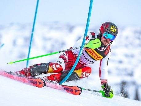 WM-Slalom: Dreifach-Sieg für Österreich mit Hirscher vorneweg