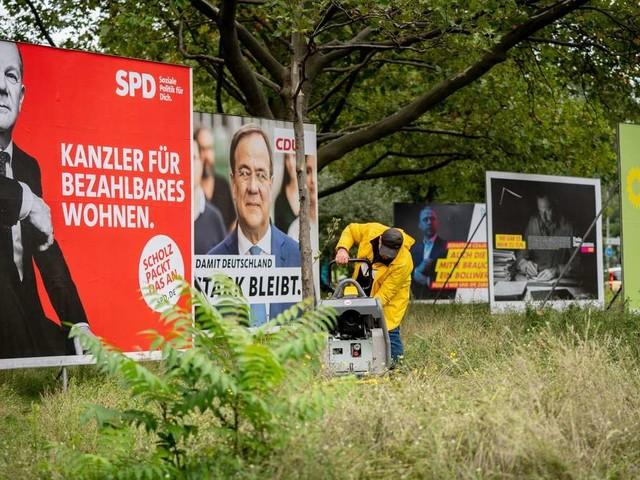 Bundestagswahl 2021: Parteien werben bis zuletzt um Stimmen