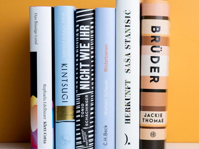 Deutscher Buchpreis 2019: Diese sechs Bücher stehen auf der Shortlist