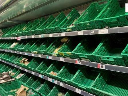 Teures Gas, wenig Essen: Briten fürchten leidvollen Winter
