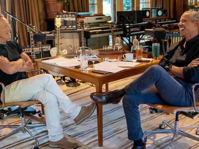 Obama und Springsteen starten gemeinsamen Podcast