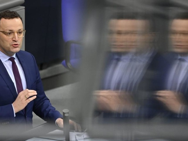 Deutscher Minister Spahn gibt keine Aussicht auf schnelle Lockerung