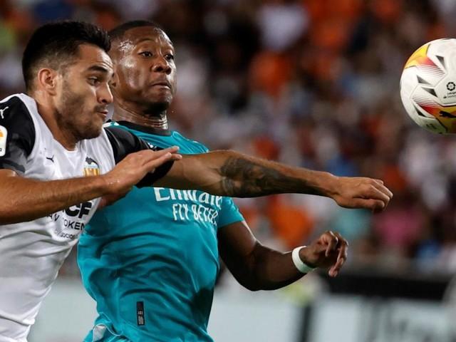 Alaba jubelt: Real nach Last-Minute-Sieg bei Valencia Leader