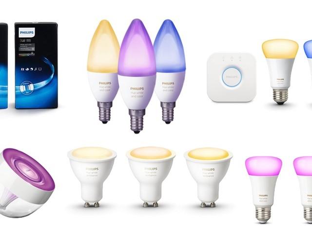Philips Hue mit bis zu 41 Prozent Rabatt kaufen (u.a. hue Go, Starter Sets, LightStrips+ und mehr
