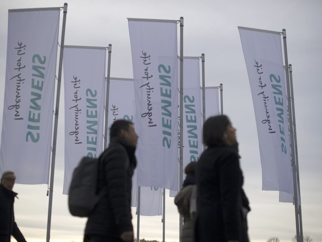 Siemens streicht in Deutschland weniger Stellen als geplant