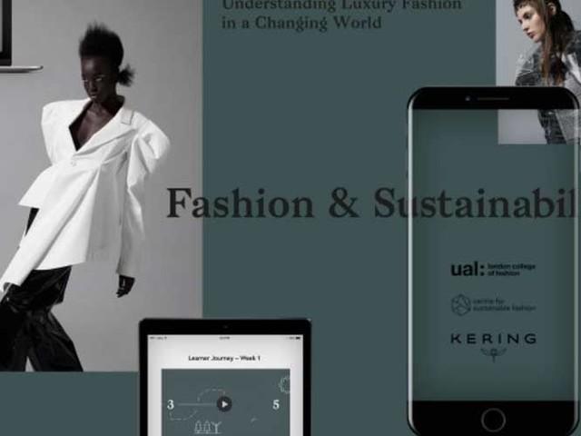 Kering und London College of Fashion fördern Nachhaltigkeit