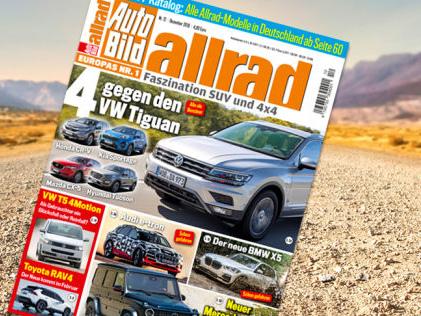 AUTO BILD ALLRAD 12/2018 Die neue AUTO BILD ALLRAD