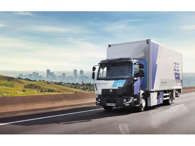Renault Trucks stellt Fahrplan vor: Elektro-Lkw auch mit Brennstoffzelle