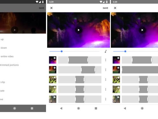 Google Fotos bekommt neuen Video-Editor