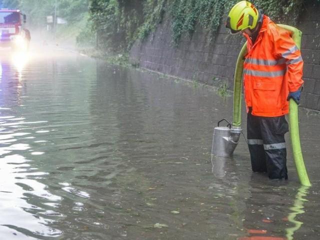Nach Überschwemmungen: Sorge vor weiteren Gewittern